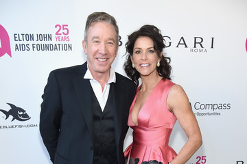 Tim Allen Jane Hajduk 26th Annual Elton John AIDS Foundation Academy Awards Viewing Party sponsored by Bulgari, celebrating EJAF and the 90th Academy Awards - Red Carpet