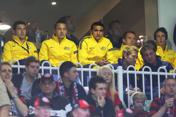 Tim Cahill A-League Rd 6 - Western Sydney Wanderers v Melbourne Victory