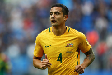 Tim Cahill Cameroon v Australia: Group B - FIFA Confederations Cup Russia 2017