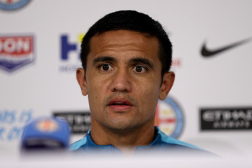 Tim Cahill Melbourne City FC Training Session & Press Conference