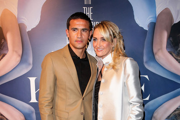 Tim Cahill with beautiful, cute, Wife Rebekah Greenhill