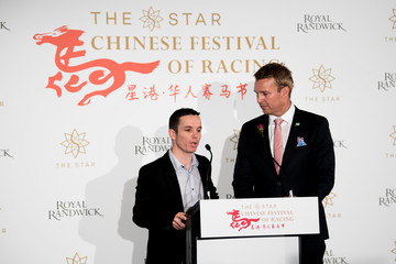 Tim Clark Chinese Festival of Racing 2018 Media Launch