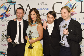 Tim Coppens CFDA Fashion Awards' Winners Walk