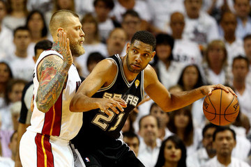 Tim Duncan 2014 NBA Finals - Game Three