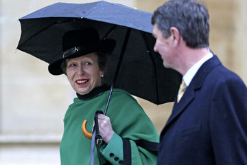 Tim Laurence Queen Elizabeth II Attends The Easter Day Service At Windsor Castle
