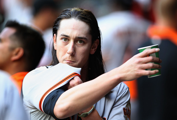 Tim Lincecum - San Francisco Giants v Arizona Diamondbacks