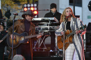 Tim McGraw and Faith Hill Perform On NBC's Today at Rockefeller Plaza on November 17, 2017 in New York City.