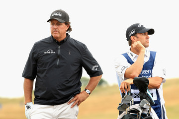Tim Mickelson Aberdeen Standard Investments Scottish Open - Day Two