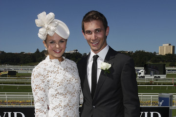 Tim Myers Celebrities Attend AJC Australian Derby Day