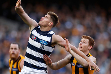 Tim O'Brien AFL Rd 17 - Geelong v Hawthorn