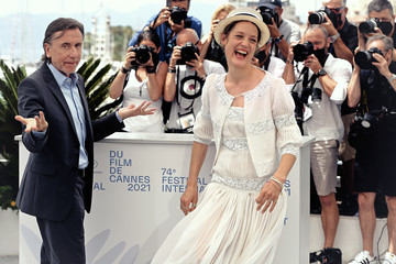 Tim Roth Vicky Krieps Alternative View In Colour - The 74th Annual Cannes Film Festival