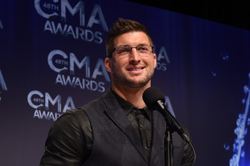 Tim Tebow 48th Annual CMA Awards - Press Room