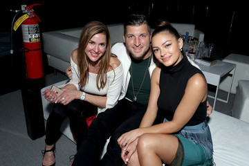 Tim Tebow Demi-Leigh Nel-Peters DIRECTV Super Saturday Night 2019 - Inside