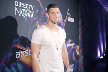 Tim Tebow 2018 DIRECTV NOW Super Saturday Night Concert in Minneapolis - Arrivals