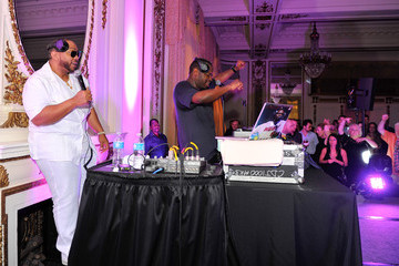 Timbaland Freestyle Steve Revd Launch Event With Timbaland