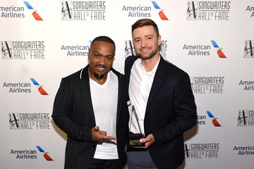 Timbaland Justin Timberlake Songwriters Hall Of Fame 50th Annual Induction And Awards Dinner - Backstage