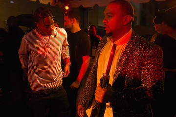 Timbaland Celebrities Attend the Rihanna Party at The New York EDITION