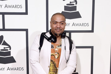 Timbaland The 58th GRAMMY Awards - Arrivals