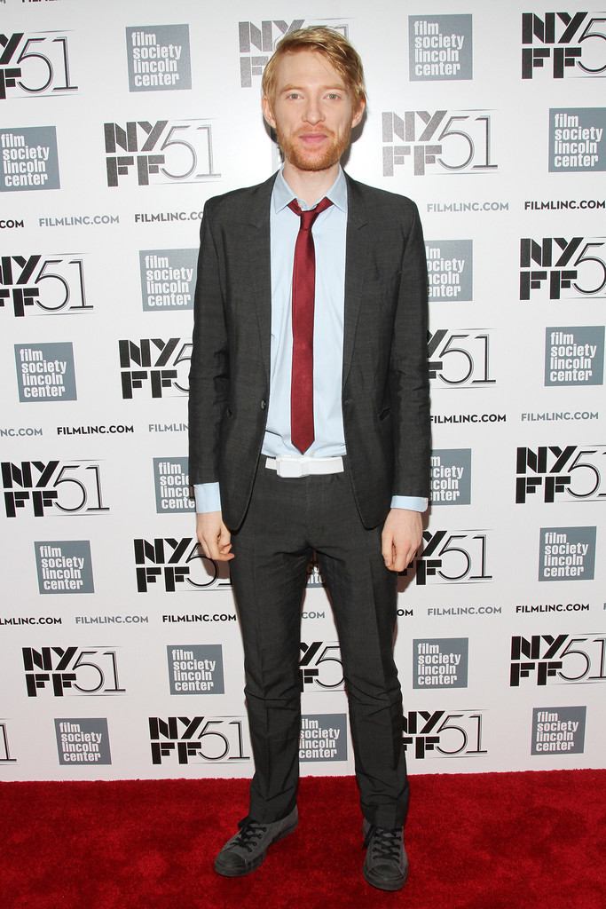 Domhnall Gleeson in 'About Time' Premieres in NYC - Zimbio