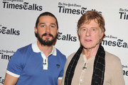 Robert Redford and Shia LaBeouf Photos Photo