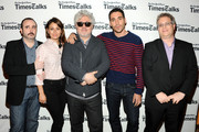 Carlos Areces, Blanca Suarez, Pedro Almodovar, Miguel Angel Silvestre and Lorne Manly attend TimesTalks Presents: Pedro Almodovar at Times Center on June 7, 2013 in New York City.