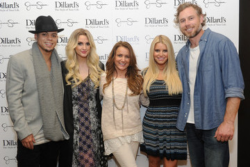 Tina Simpson Jessica Simpson Collection Event in Dallas
