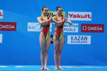 Tingting Jiang FINA World Championships: Day 2
