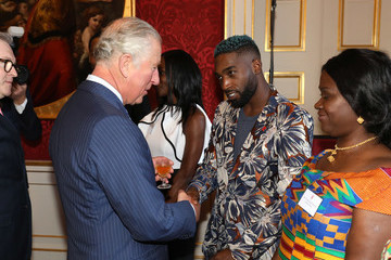 Tinie Tempah The Prince Of Wales And The Duchess Of Cornwall Gambia, Ghana And Nigeria Reception