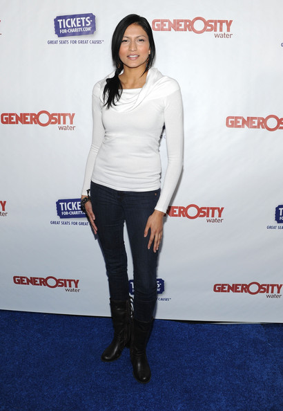 "Tinsel Korey Actress Tinsel Korey arrives at Generosity Water's 3rd Annual ""Night Of Generosity"" hosted by E! personalities Jason Kennedy and Giuliana Rancic at the home of Wayne Kao, music producer on March 18, 2011 in Los Angeles, California."