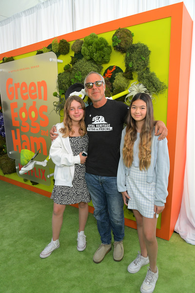 Netflix 'Green Eggs And Ham' Los Angeles Premiere [green eggs ham,green,red,youth,yellow,child,community,event,fun,summer,leisure,family,titus welliver,c,los angeles,california,netflix,premiere]