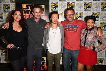 Tiya Sircar 'Star Wars: Rebels' Press Line at Comic-Con
