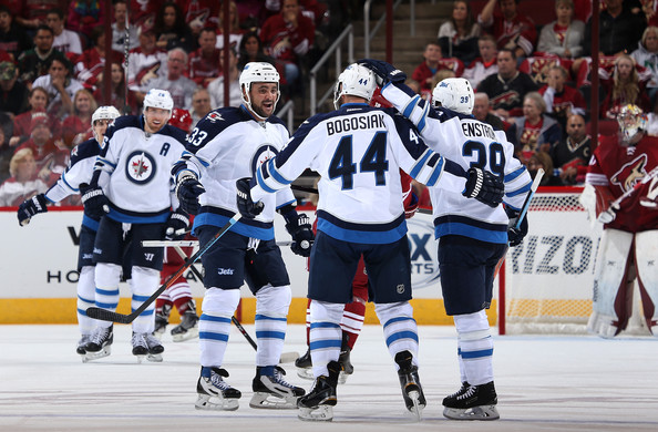 Winnipeg Jets v Arizona Coyotes