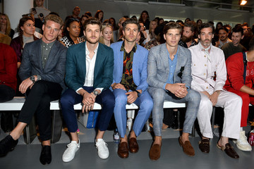 Toby Huntington-Whiteley Front Row & Arrivals: Day 3 - LFWM June 2017