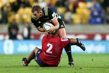 Toby Smith Super Rugby Rd 14 - Hurricanes Vs. Reds
