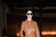 Coco Rocha attends the Tod's fashion show on February 21, 2020 in Milan, Italy.
