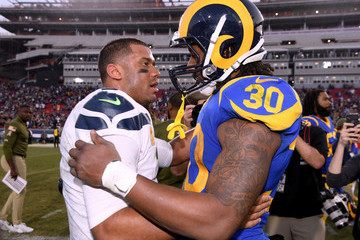 Todd Gurley Seattle Seahawks v Los Angeles Rams