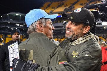 Todd Haley Tennessee Titans vPittsburgh Steelers