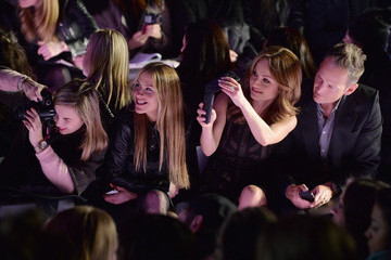Todd Thompson Front Row at the BCBGMAXAZRIA Show