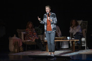 Abby Wambach speaks on stage at Together Live at Clowes Memorial Hall on October 20, 2019 in Indianapolis, Indiana.