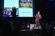 Abby Wambach on stage during Together Live at Town Hall on November 04, 2019 in New York City.