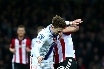 Tom Bradshaw Brentford v Walsall - The Emirates FA Cup Third Round