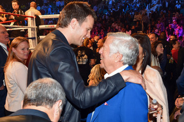 Tom Brady Ringside At 'Mayweather VS Pacquiao'