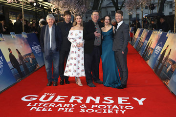 Tom Courtenay 'The Guernsey Literary And Potato Peel Pie Society' World Premiere - Red Carpet Arrivals