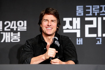 Tom Cruise 'Jack Reacher: Never Go Back' Press Conference and Photocall In Seoul