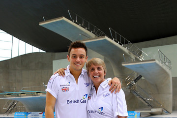 Tom Daley Jane Figueiredo British Diving Training Session