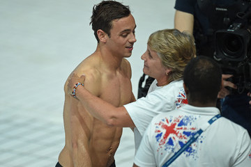 Tom Daley Jane Figueiredo Diving - 16th FINA World Championships: Day Eight
