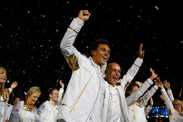 Tom Daley Peter Waterfield 2012 Olympic Games - Opening Ceremony