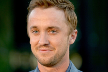 Tom Felton Burberry 'London In Los Angeles' Event - Red Carpet