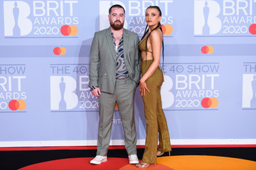 Tom Green Daisy Maskell The BRIT Awards 2020 - Red Carpet Arrivals