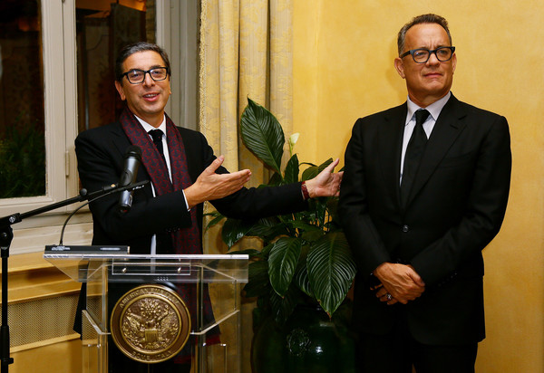 Guests Attend a Party Honouring Tom Hanks Hosted by US Embassy []